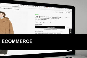Ecommerce websites and services